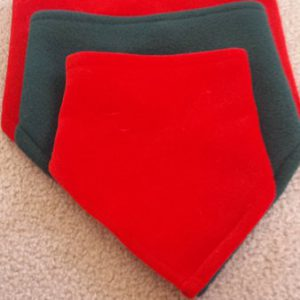 Fleece Bandana Designer Dog Accessories